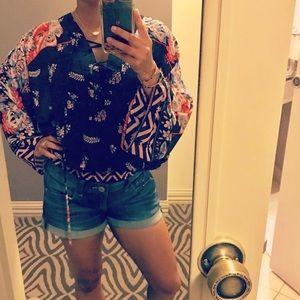 💫Gorgeous Kimono style Express blouse!💫